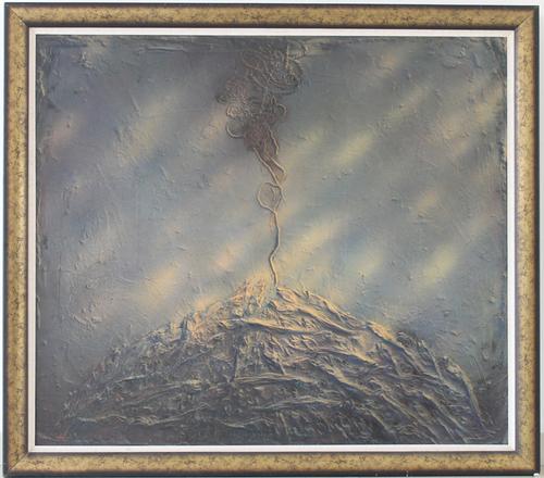 《鱼苦图》油彩,丙烯综合材料143cm x 166cm.JPG